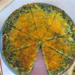 Spinach and Potato Frittata