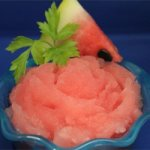 Juicy Watermelon Sorbet