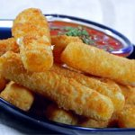 Fried Mozzarella Cheese Sticks
