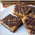 Mocha Cheesecake Brownie Bars