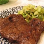 Grilled Gorgonzola Flat Irons