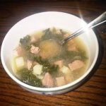 Simple Kale Soup