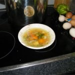Turkey Soup with Root Vegetables