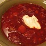 Russian Cabbage Borscht