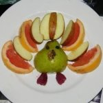 Sheri's Fun Fruit Turkey