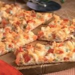 Gourmet White Pizza with Chicken
