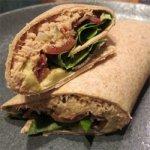 Tuna, Avocado and Bacon Sandwich