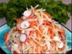Ginger, Carrot, and Daikon Salad