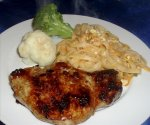 Grilled Pork Chops With Honey Glaze