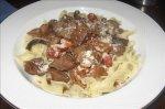 Wild Mushroom Beef Stew With Herbed Zucchini Noodles