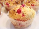 Cranberry and Cream Cheese Muffins