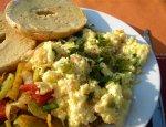 Fluffy Scrambled Eggs With Fresh Herbs