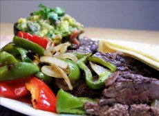 Grilled Skirt Steak With Avocado-Tomato Salsa