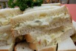 Egg Salad Finger Sandwiches