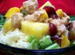 Couscous and Chicken Fruit Salad