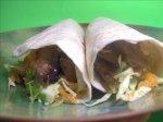 Low-Fat Teriyaki Vegetarian Beef Wraps