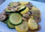 Linda's Mushroom and Squash Medley
