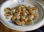 Buttery Garlic & Garden Herb Grilled Jumbo Shrimp