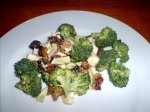 Broccoli Salad With Bacon and Craisins