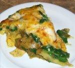 Leek, Potato & Spinach Frittata