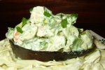 Chilean-Style Avocado and Shrimp Salad