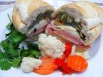 Muffuletta Sandwich (Schlotzsky Style)