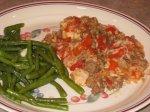 Chicken and Sausage Skillet Supper