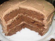Decadent Chocolate-Lemon Ganache Cake