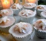 Magical Christmas Fairy Cakes - Christmas Fairy Cupcakes