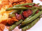 Rachael Ray's Bacon Fried Green Beans