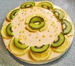 Lemon Cheesecake-unbaked