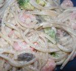Lip-Smacking Linguini Salad with Horseradish Dressing