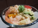 Shrimp and Orzo Salad With Citrus Vinegrette