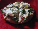 Super Healthy Veggie Pita Pizza