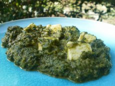 I Love Palak Paneer (Spinach and Cheese Curry)