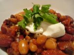3-Bean Vegetarian Chili (Goya Beans)