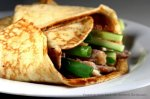 Hoisin Chicken Crepes