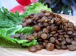 Lentil Salad in Olive Oil With Egyptian Spices