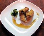 Shanghai Pork, Shrimp, Bamboo, and Mushroom Spring Rolls