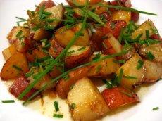 Maple-Glazed New Potatoes