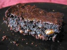 Vegan Whole Wheat Zucchini Brownie Cake