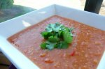 Big Batch Red Lentil Soup