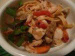 Fettuccine with Herbed Shrimp
