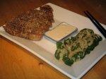 grilled wasabi tuna