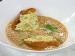 Asian Shrimp Bisque with Shrimp Toast