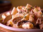 Rigatoni with Creamy Mushroom Sauce