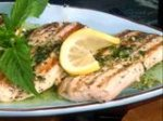 Seared Mahi Mahi with Zesty Basil Butter