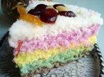 Rainbow rice cake (