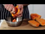 How to chop butternut squash