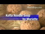 Kofta Noodle Soup (Recipes For Ground Beef)
